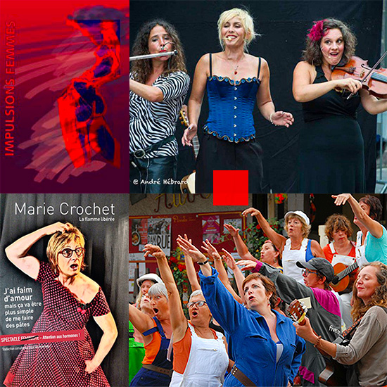 Festival Impulsions femmes - cabaret
