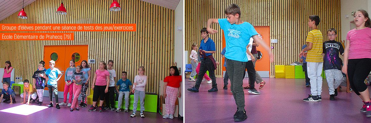 Erasmus+ exercices-jeux de clown en classe de collège